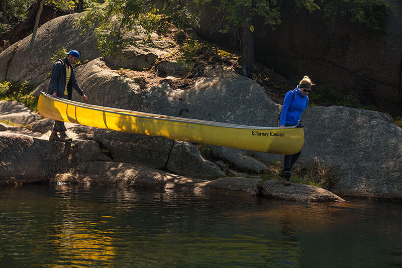 Killarney Provincial Park, Canoeing, camping, lake adventures, back country, Canada, Things to do in Canada