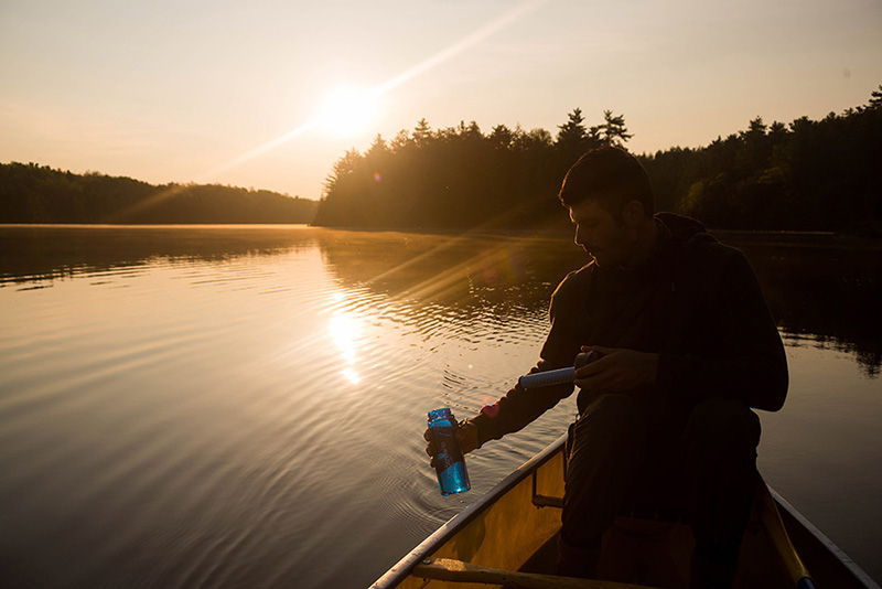 Killarney Provincial Park, Canoeing, camping, lake adventures, back country, Canada, Things to do in Canada; lifestraw
