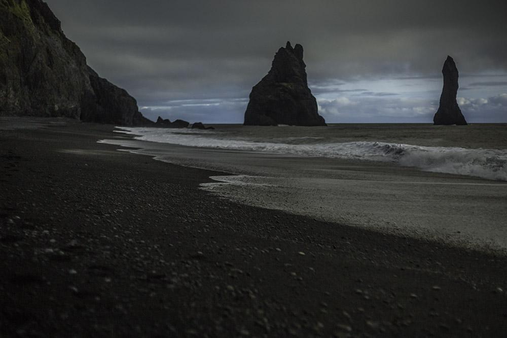Iceland plane crash, black beach Iceland, black sand, black beach
