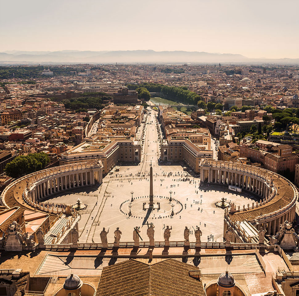 Vatican City; vatican city view