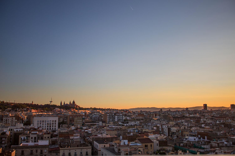Barcelona, Spain, view of Barcelona, raval, barcelo raval