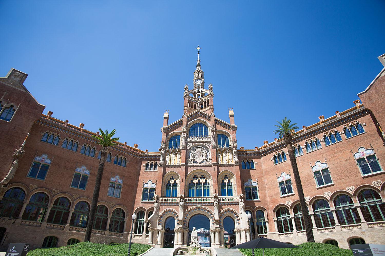 Sant Pau Recinte Modernista, barcelona