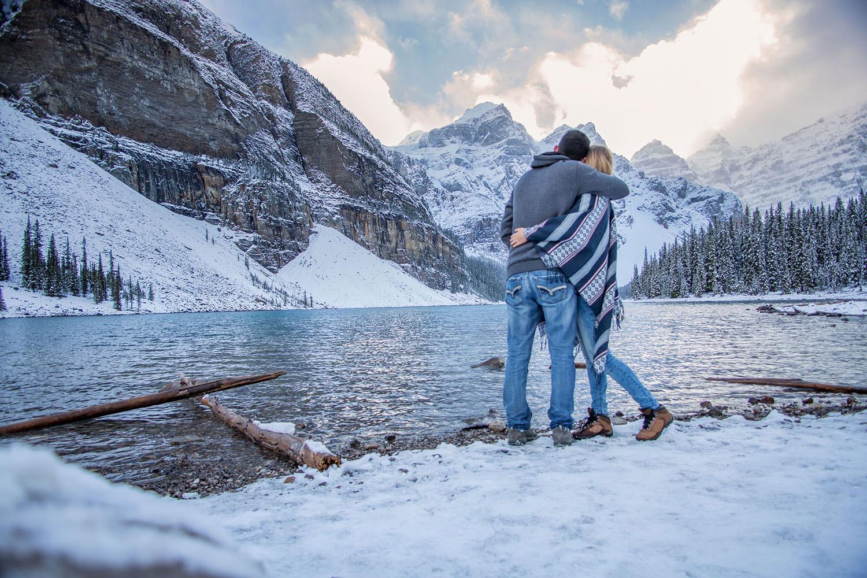 Moraine Lake; Banff National Park; Banff; Lake Louise; Alberta; Canada