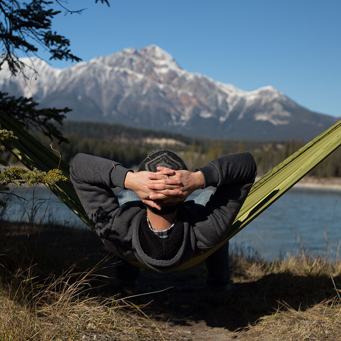 Thermarest; hammocks; camping in alberta